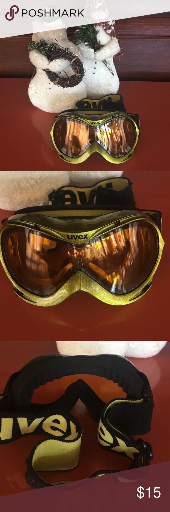 UVEX Child Ski Goggles Hurricane Double Lens Ski