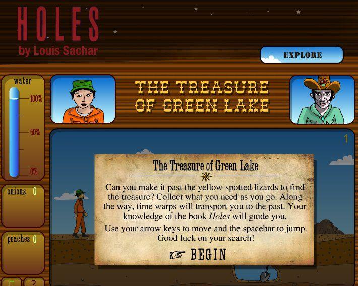 Holes Treasure Hunt Game