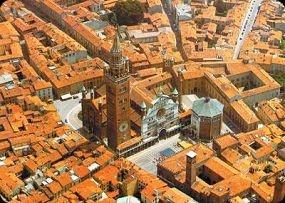 Vista aerea - Cremona, Italia