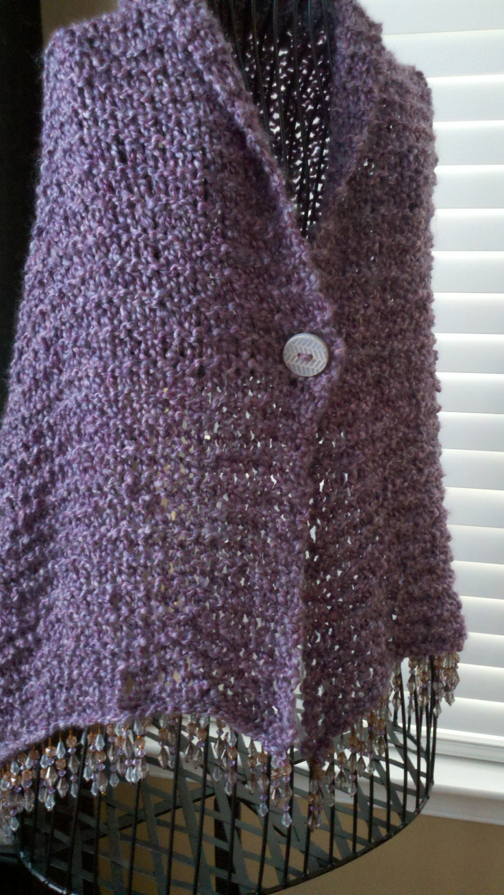 167 best images about Knitted Shawls And Wraps on Pinterest Free pattern, K...