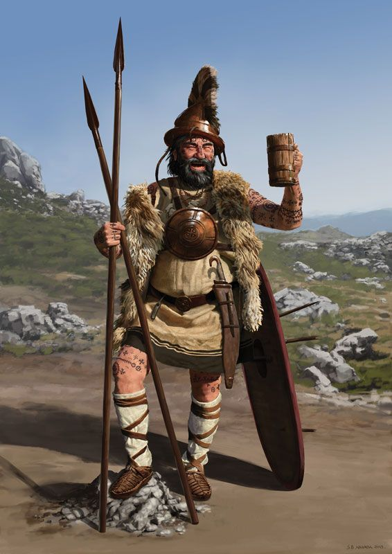 An Illyrian Warrior.