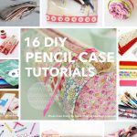 Are you searching for some DIY Pencil case tutorials for back to school season? This list is full of beautiful patchwork pouches, flat pencil cases, binder pencil cases & even a crochet pencil case! There are some great Pencil case projects in this post.