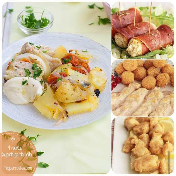 Pechuga de pollo: 9 recetas de pollo                                                                                                                                                                                 Más