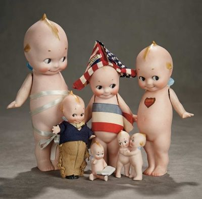 A Time For Gratitude: 185 Collection of German All-Bisque Kewpies