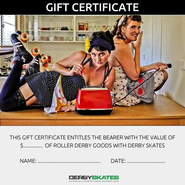 looking for that ideal gift for that Roller Derby skater in your life.. Lifes so much better on Rollerskates