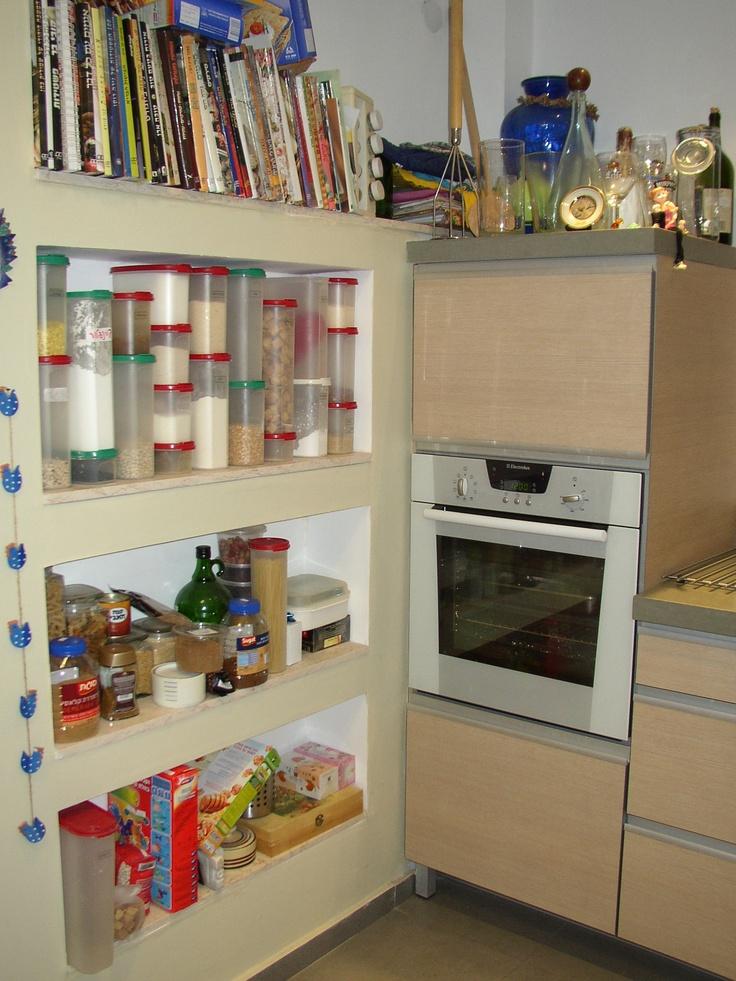 נישה פתוחה במטבח
