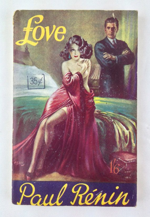 Love By Paul Renin Vintage Pulp Fiction Paperback Rare