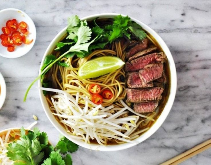 Vietnamese Recipes – Authentic, Delicious and Perfect Beef Rice Noodles Soup with Savory Broth – Pho Bo