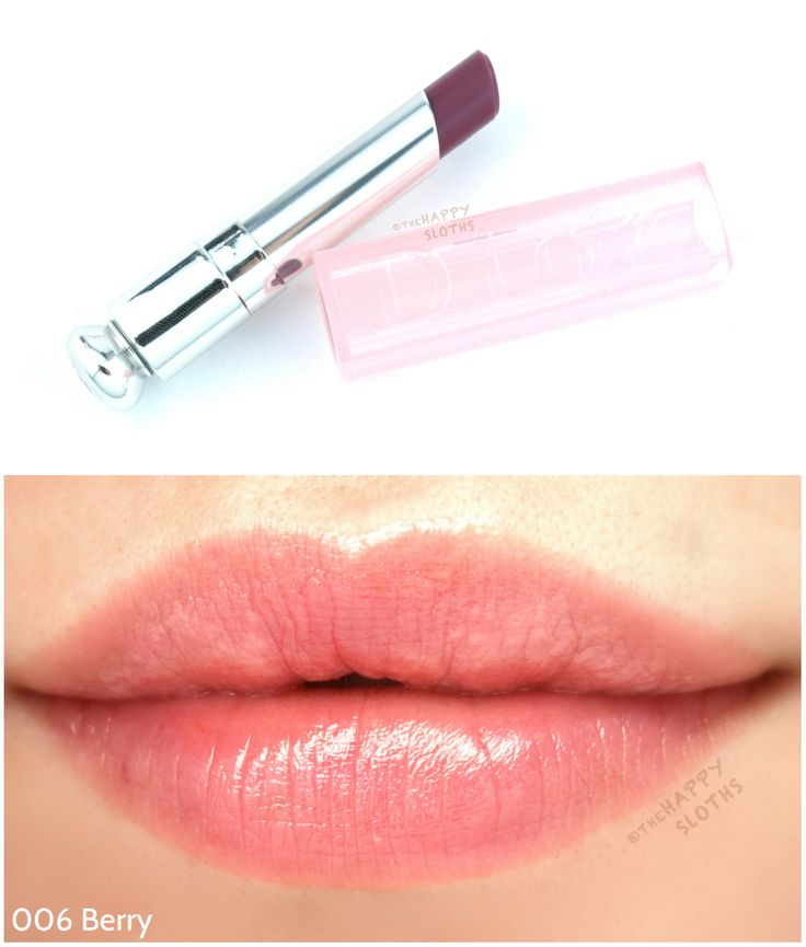 """Dior Addict Lip Glow in """"006 Berry"""": Review and Swatches"""