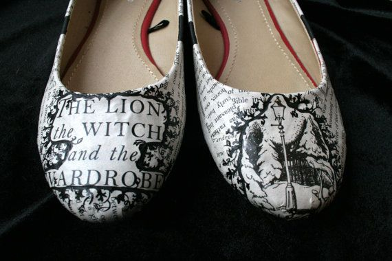 Chronicles of Narnia Flats Literature Flats by LeadFootLucy, $50.00