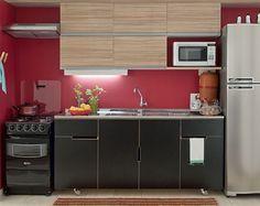 Elegant Cozinha e lavanderia integradas bonitas e pr ticas