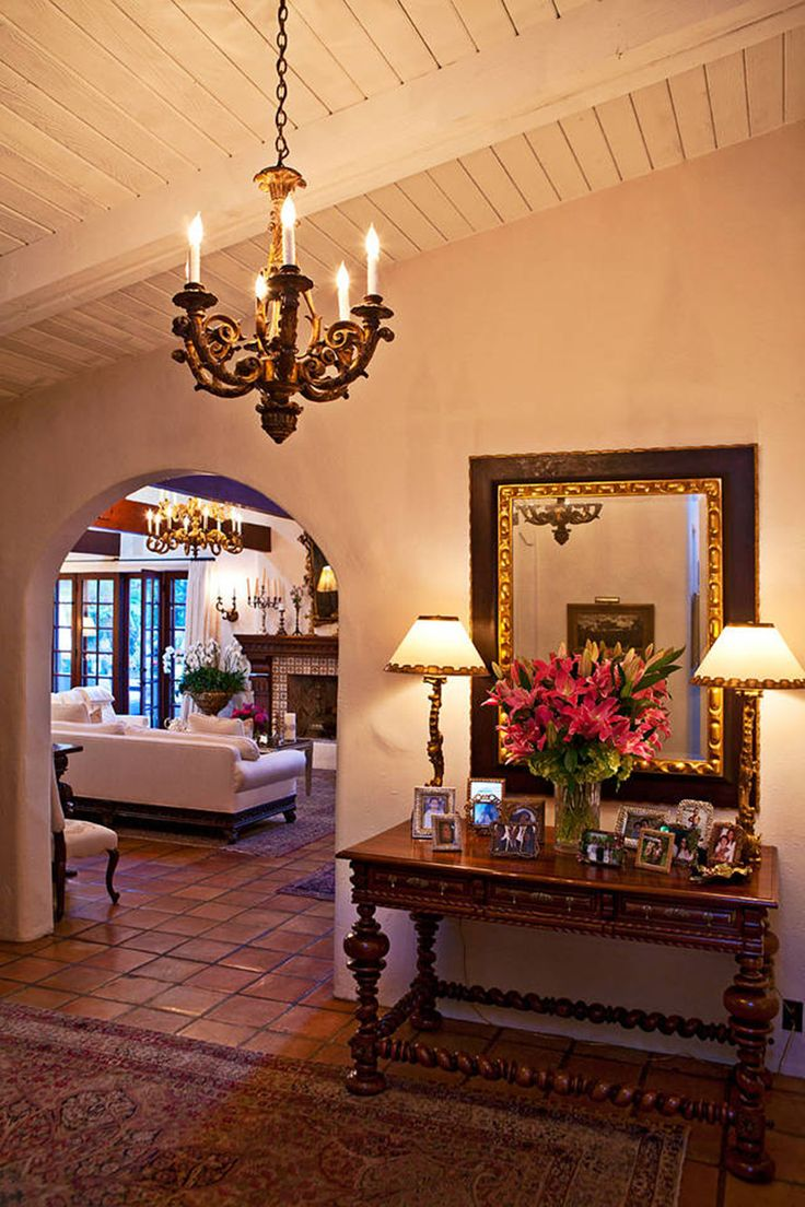 3249 best spanish style homes images on pinterest for Colonial style interior decorating