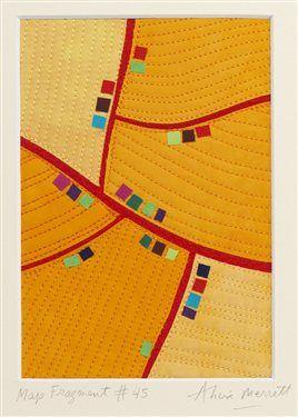 award-winning art quilter Alicia Merrett.