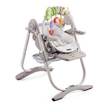 151 euros - Chicco - 05079152400000 - Polly Magic - Chaise Haute - Gris Foncé: Amazon.fr: Bébés & Puériculture