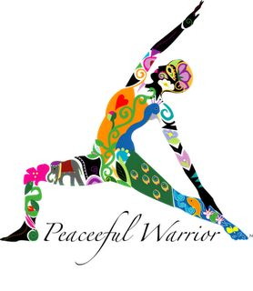 Peaceful Warrior...what I am striving to be every day