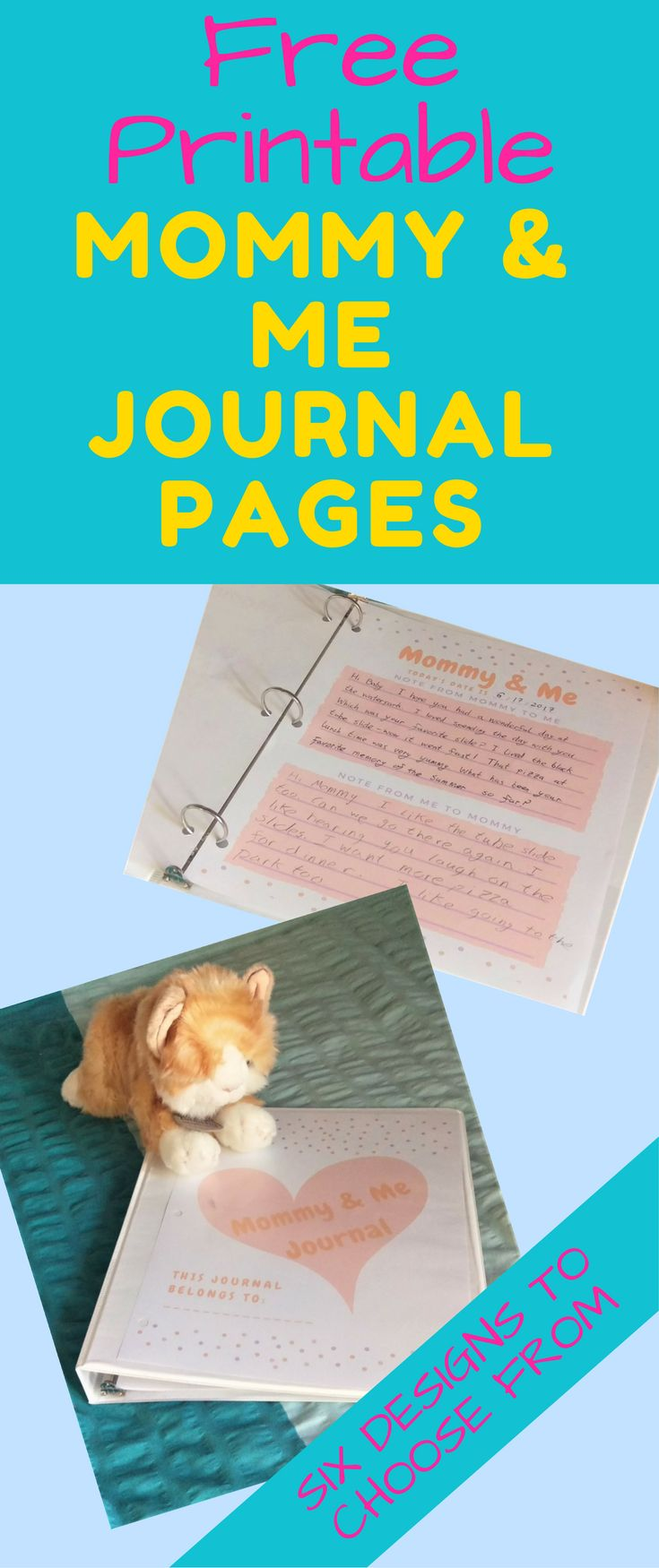 Improve Your Child's Behavior with A Mommy & Me Journal. I didn't believe it would make that much difference until I tried it - WOW! My daughter is a different child!
