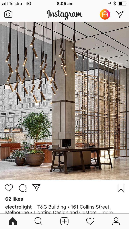 وحدات الاضاءة الحديثة من Hotel Lobby Design Lobby Design Hotel Interiors