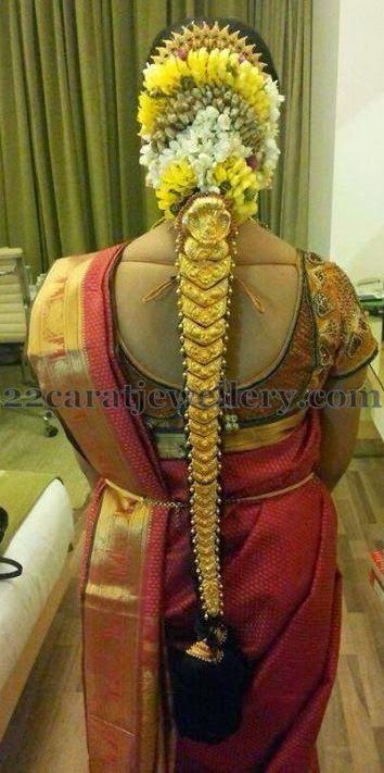 Jewellery Designs: Bride in Rich Antique Gold Jada