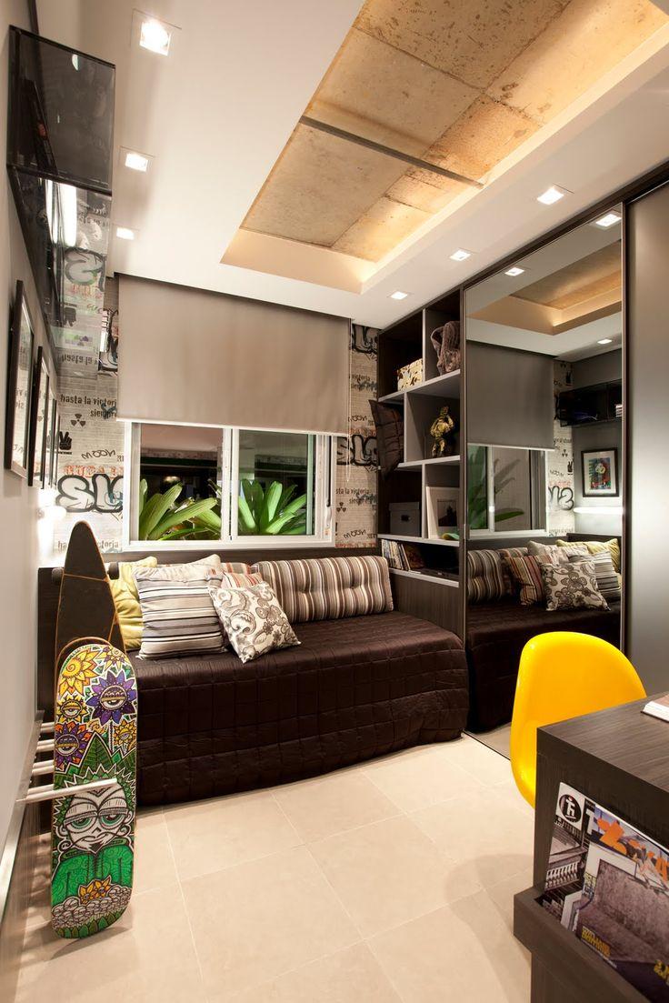 25 melhores ideias sobre quartos de rapazes adolescentes for Dormitorio adolescente