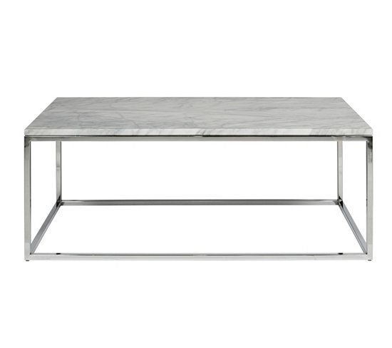 Table basse interiors doccasion - Table blanche fly ...