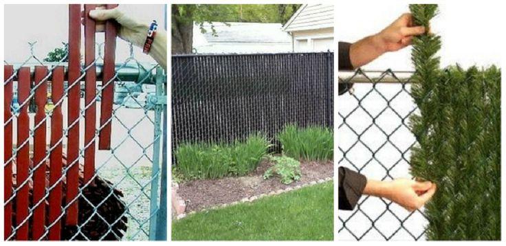 Így rejtsd el a drótkerítést! 11 fantasztikus ötlet, amivel átváltoztathatod a kerítésed!
