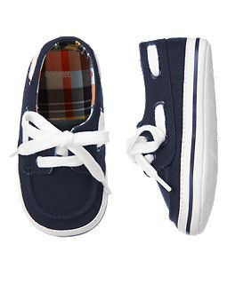 Canvas Boat Crib Shoe