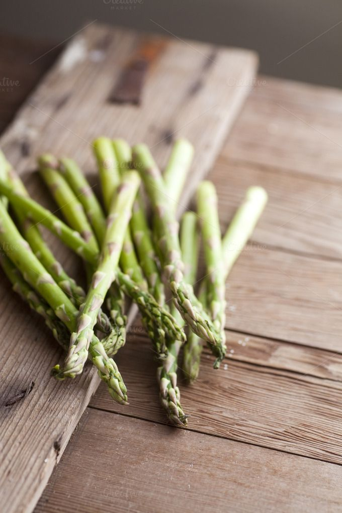 Bunch of Asparagus by More Than Cake on Creative Market