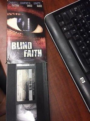 Blind Faith [VHS] Video - Charles S. Dutton