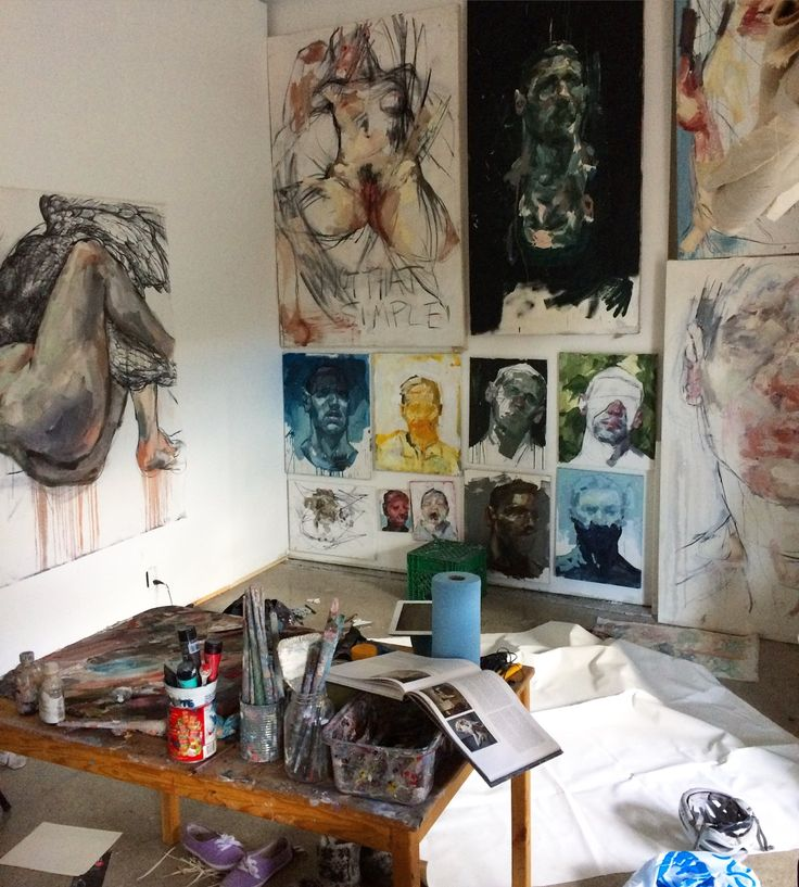 232 best images about workspace painter 39 s studio on