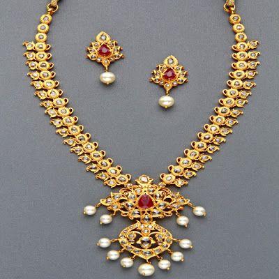 Indian Jewellery and Clothing: Uncut diamond jewellery