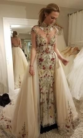 Stephen Yearick wedding dress currently for sale at 29% off retail.