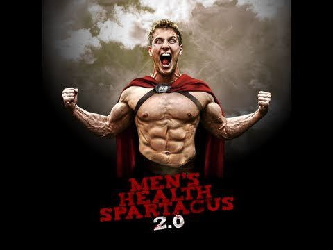 "I know it's a ""Men's Health"" workout, but I love this kind of plyometric weight workout! Ladies are gladiators too :) Spartacus 2.0 Official Workout! - YouTube"