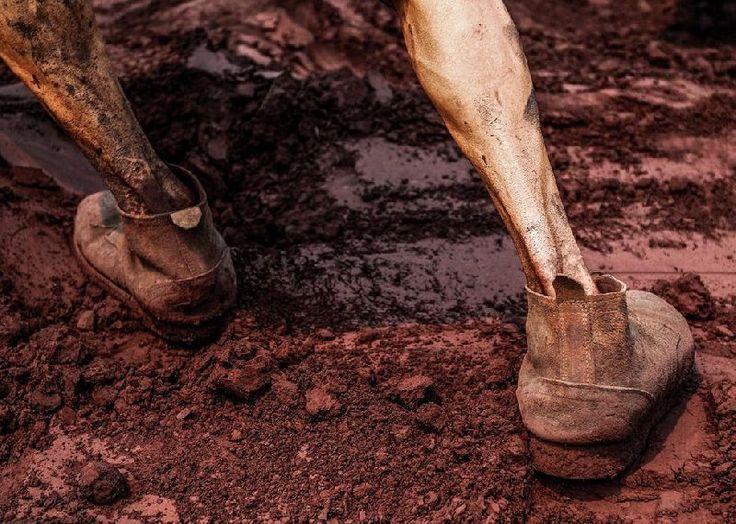 Skinny but powerful leg,migrant worker