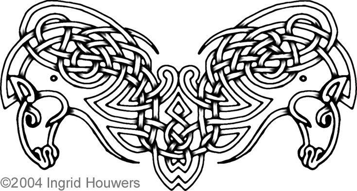 celtic horse tattoos | Celtic horses tattoo design by *Illahie on deviantART