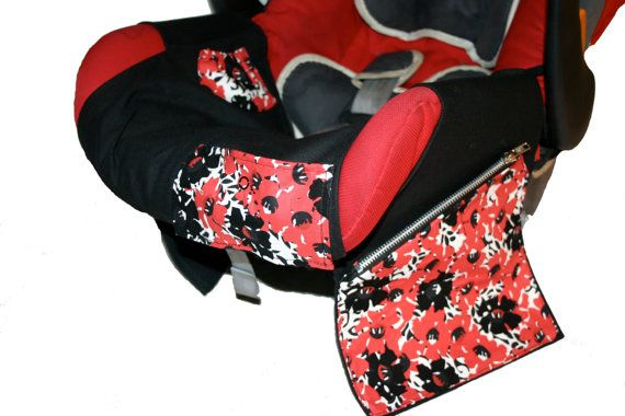 Infant Baby Car Seat Liner and Caddy by JakeandDex on Etsy