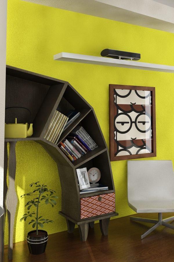 The Bookshelf Rethought: 5 Innovative Designs