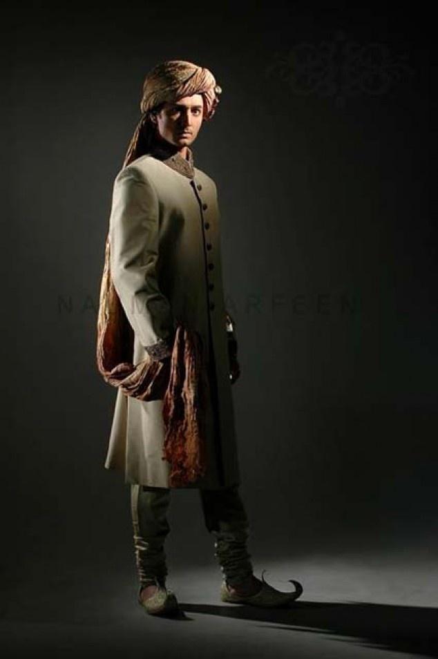 98 best Indian Groom Wear images on Pinterest | Wedding sherwani ...