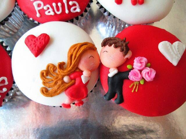 Cupcakes de novios <3