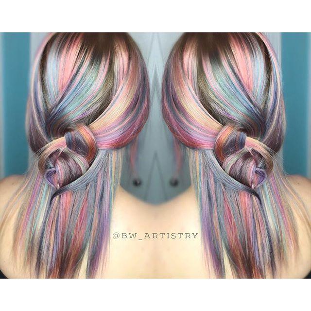 Multicolored hair                                                                                                                                                                                 More