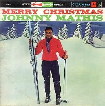Merry Christmas Jonny Mathias Columbia record album