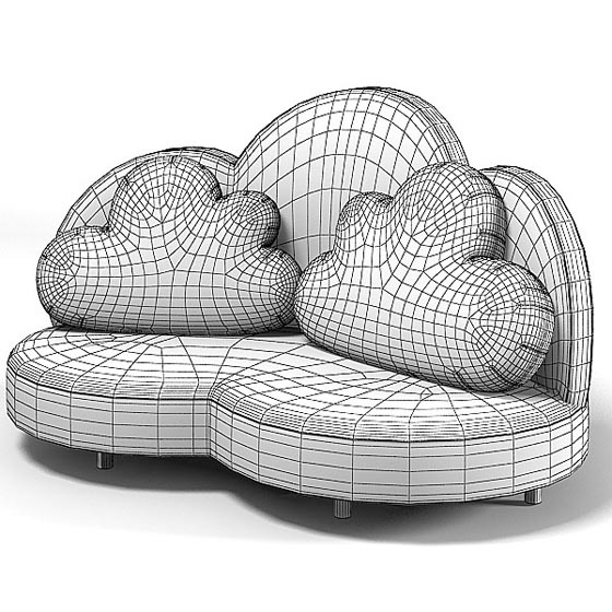 Cloud Sofa Beautiful and Fun with Colors Fun for Kids