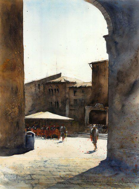 Watercolor Paintings By Tytus Brzozowski