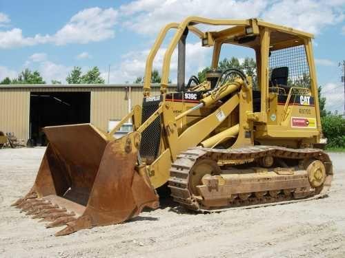 Caterpillar 939 Track Loader Heavy Equipment Pinterest