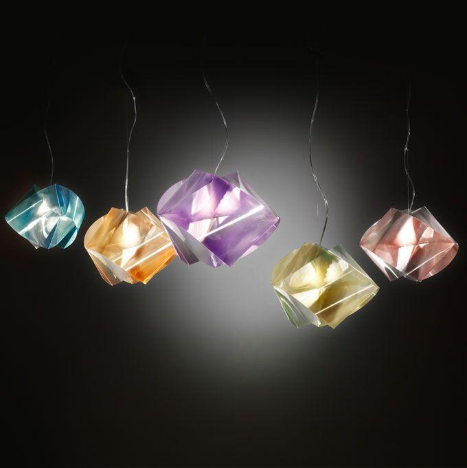 Do you like gems? Here is a wonderful sospension gem lamp by @SLAMP_SPA #lightning #interior