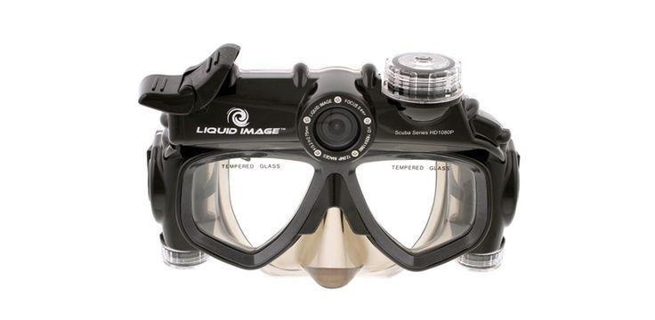 Liquid Image Masque de plongée vidéo/photo HD 1080p, 535 euros