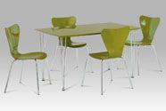 WD-5832 GRN Jídelní stůl 130x80x75 cm
