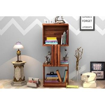 Sybil #Bookshelf with Teak Finish online. Shop for #living #room #cabinets online at Wooden Street. Find bookcases, storage cabinets, shelves, wall units, and more in lots of styles to match your living room. Visit : https://www.woodenstreet.com/living-cabinets in #Kochi #Kolkata #Lucknow #Ludhiana #Mumbai