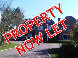 One bedroom apartment, George Close, Caversham.  Let within 2 days of advertising.