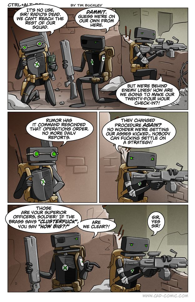 Ctrl+Alt+Del - The Console War of 2013 p3 (2013-07-22)