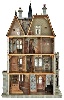 every girl needs an antique storybook house